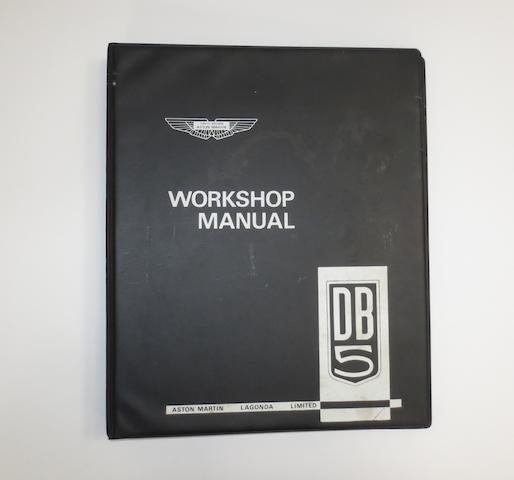 An Aston Martin DB5 Workshop Manual,