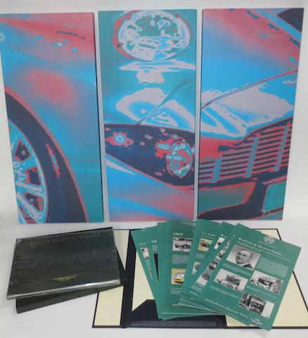Aston Martin collectables,   ((5))