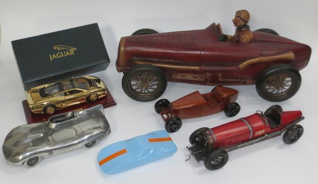 Six assorted motoring models,   ((6))