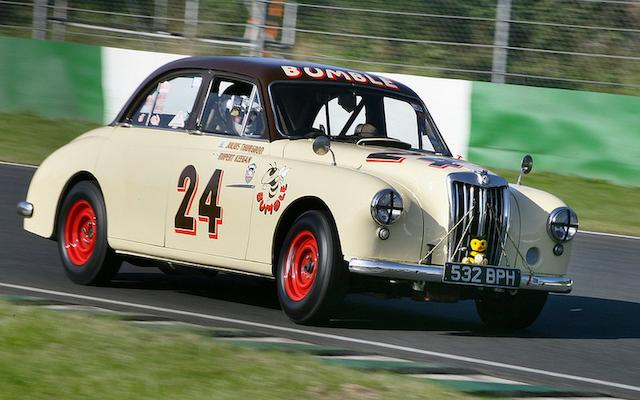 1956 MG  Magnette ZA Competition Saloon 'Bumble'  Chassis no. KAA13/18452