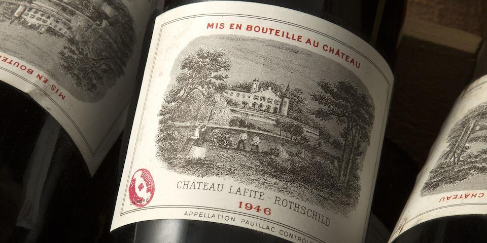 Château Lafite Rothschild 1946, Pauillac 1er Grand Cru Classé (12)