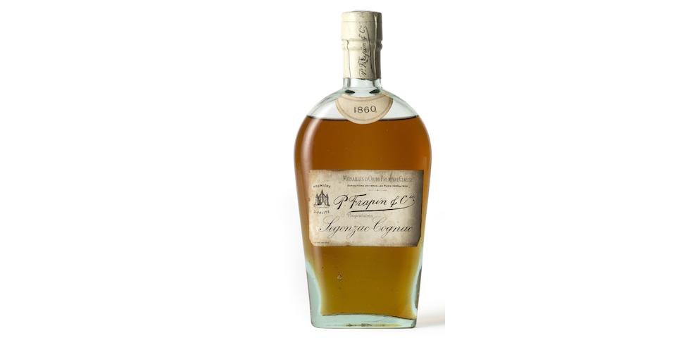 P. Frapin & Co Cognac  1860 (1 half-bottle)