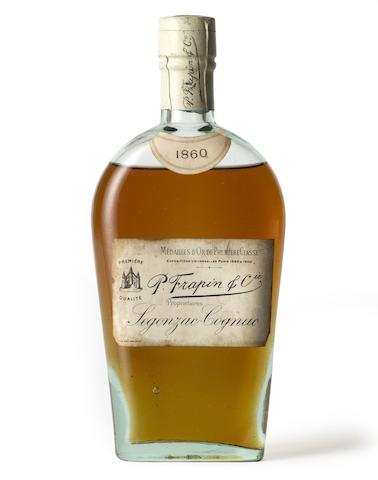 P. Frapin & Co Cognac  1860 (1 half-bottle)