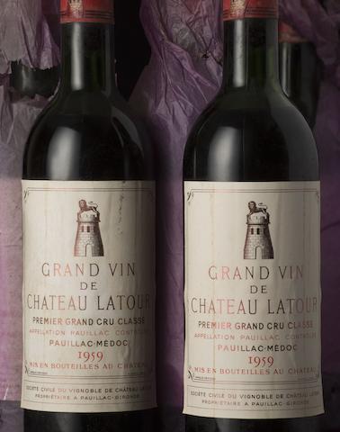 Château Latour 1959, Pauillac 1er Grand Cru Classé (6)