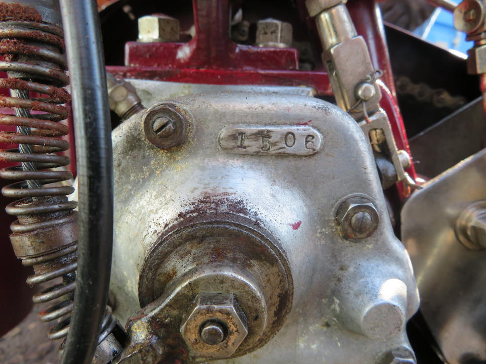 c.1913 Indian 7hp Big Twin Motorcycle Combination Engine no. 92E870
