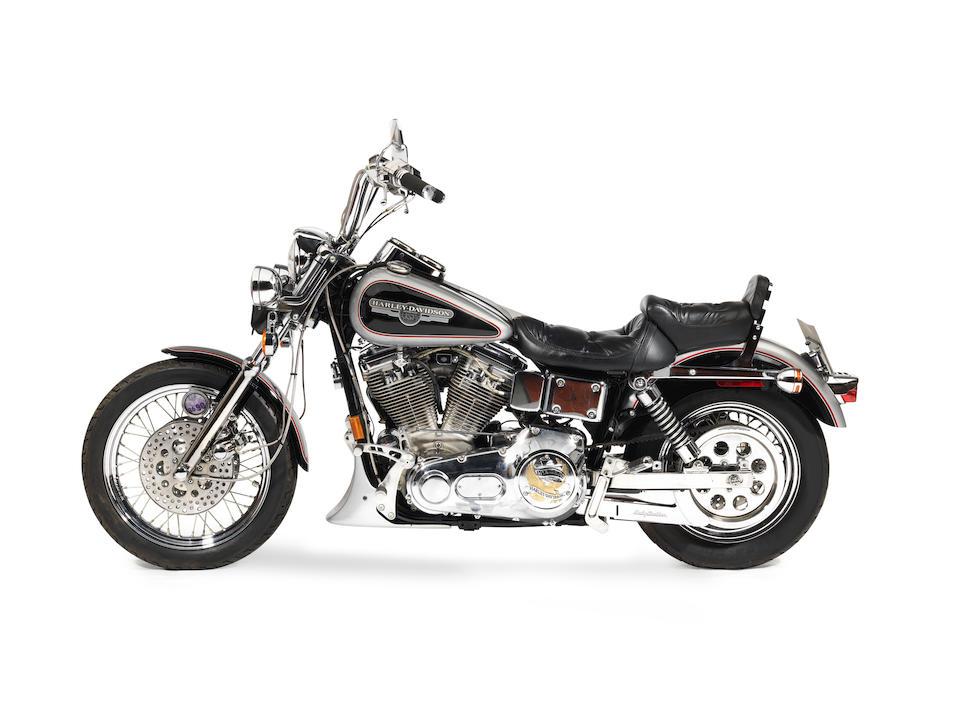 The property of Engelbert Humperdinck,1992 Harley-Davidson 1,340cc FXDC Super Dyna Glide Custom Frame no. 1HD1GCL21NY309126 Engine no. *GCLN309126*