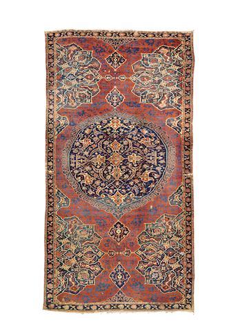 An exceptional early 16th century Ushak Medallion Carpet West Anatolia, 430cm x 225cm