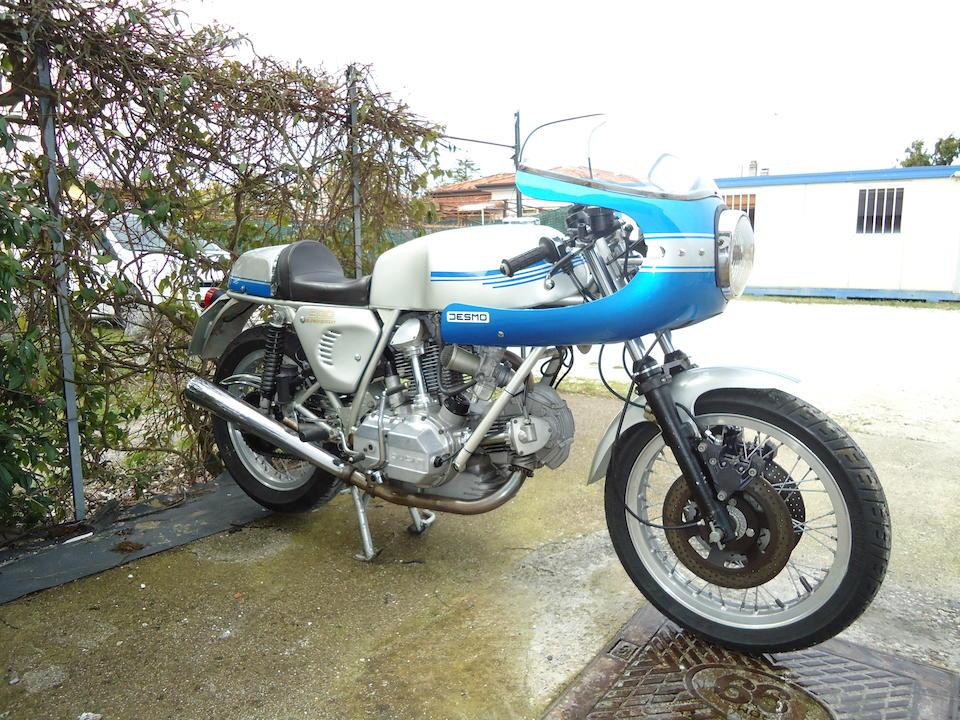 1976 Ducati 864cc 900SS Frame no. DM860SS 086116 Engine no. DM860 086116