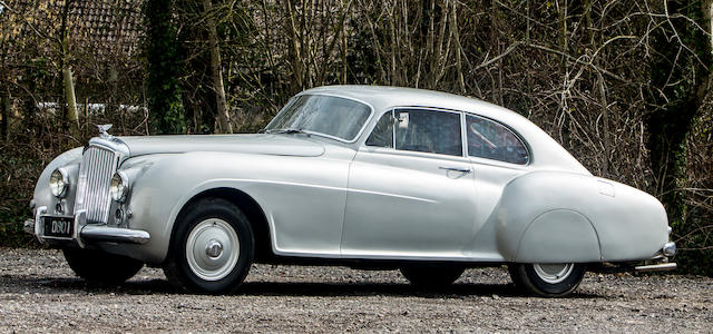 The ex-Loel Guinness,1951 Bentley R-Type Continental Sports Saloon  Chassis no. BC11A