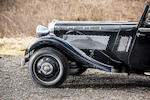 The ex-George Brough and in current ownership since 1972,1935 Brough Superior 4.2-Litre 'Dual Purpose' Drophead Coupé  Chassis no. 44601/CWC/1