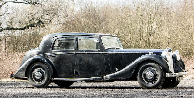 1938 Brough Superior 4½-Litre V12 Sports Saloon  Chassis no. 500/1