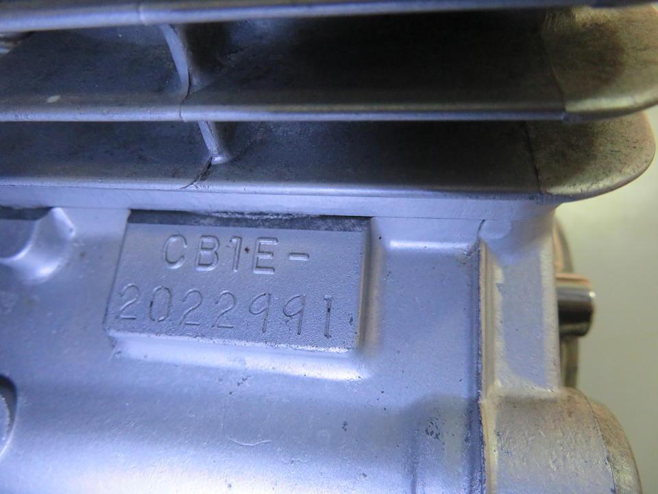 1979 Honda CBX1000Z Frame no. CB1-2022847 Engine no. CB1E-2022991