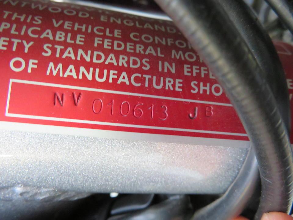 2014 Norvil Commando 850 Interstate ES Frame no. NV010613JB Engine no. NV0106JB