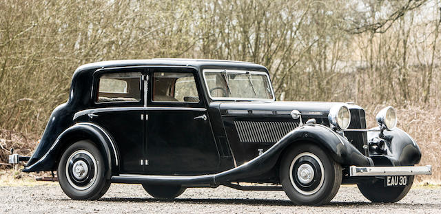 1937 Brough Superior 3½-Litre Saloon  Chassis no. 42137
