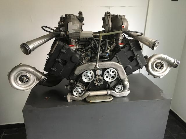 1986 Ford Cosworth F1 1500cc engine producing 1000 bhp at 12,200 rpm