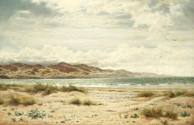 Benjamin Williams Leader, RA (British, 1831-1923) Aberdovey Bay, Wales