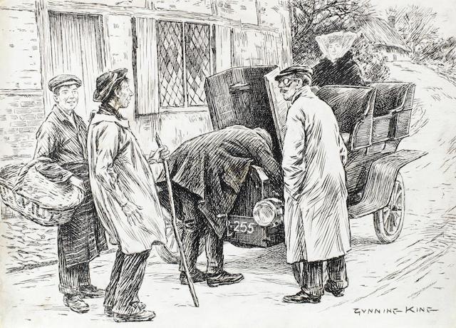 William Gunning King (British 1859-1940), 'Screw Loose', 1905,