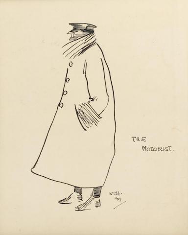W.H., 'The Motorist', dated 1907,