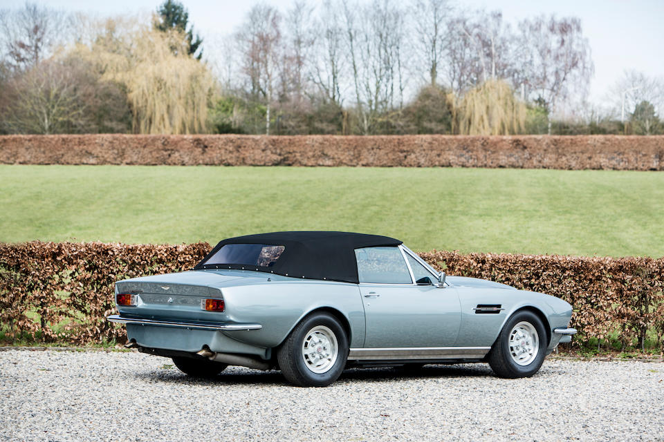 Desirable ZF five-speed manual transmission from new,1980 Aston Martin V8 Volante  Chassis no. V8COL/15191