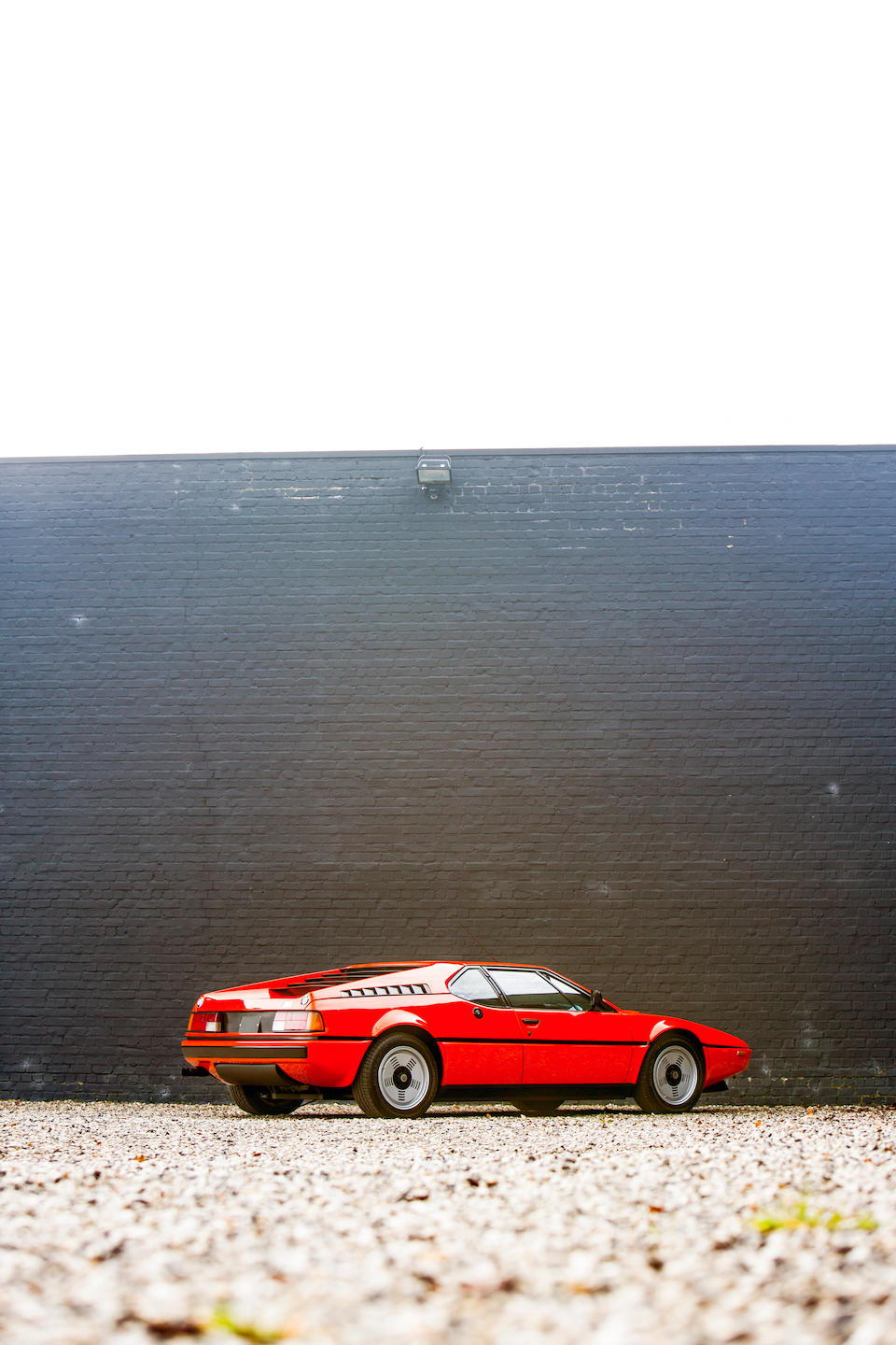 BMW Classic Certified,1980 BMW M1  Chassis no. WB500000094301080