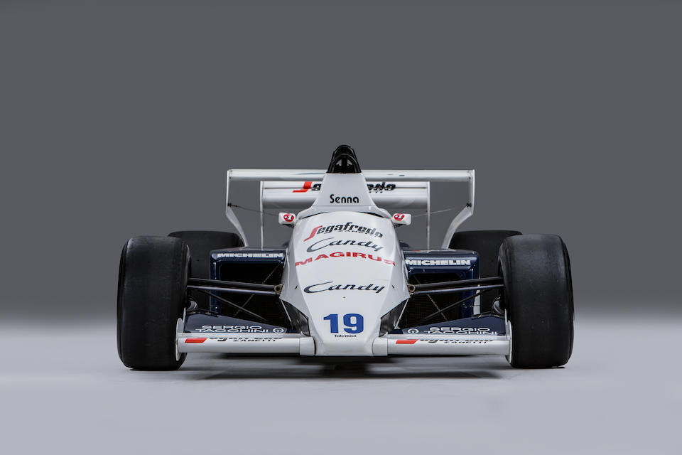 The Ex-Ayrton Senna, ex-Stefan Johansson ,1984 Toleman-Hart  TG184 Formula 1 Racing Single-Seater  Chassis no. TG184-02