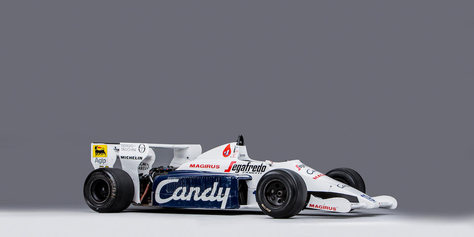 The Ex-Ayrton Senna, ex-Stefan Johansson ,1984 Toleman-Hart  TG184 Formula 1 Racing Single-Seater  Chassis no. TG184-02