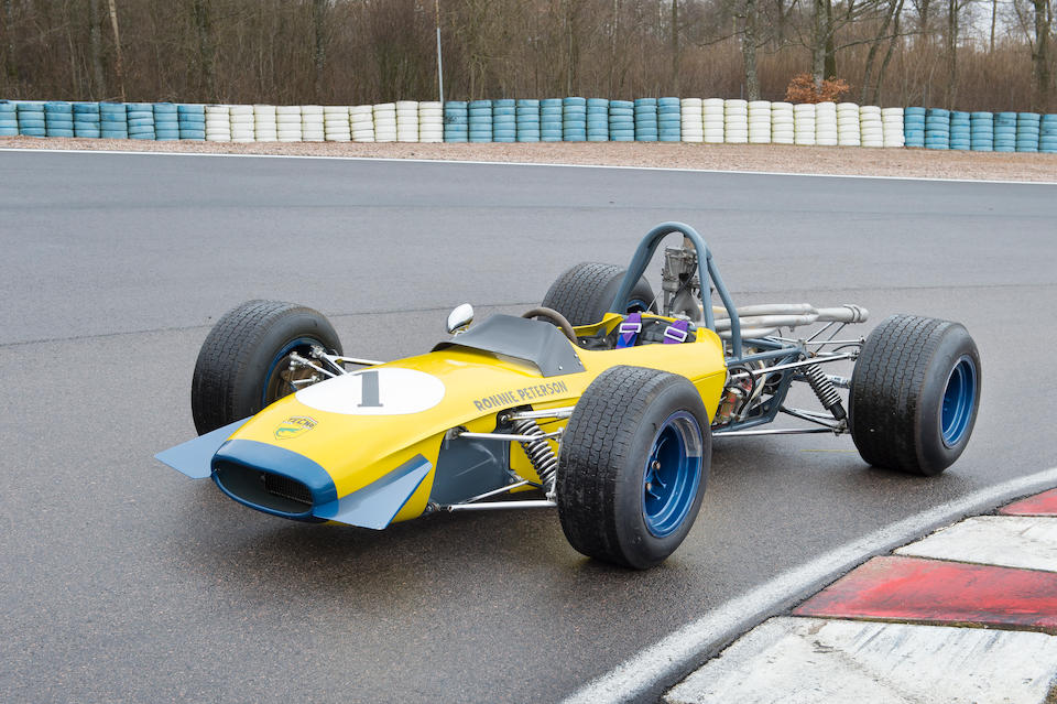 Property of the Peterson family, The ex-Ronnie Peterson Squadra Robardie,1969 Tecno-Novamotor Ford 69 Formula 3 Racing Single-Seater  Chassis no. TOO334