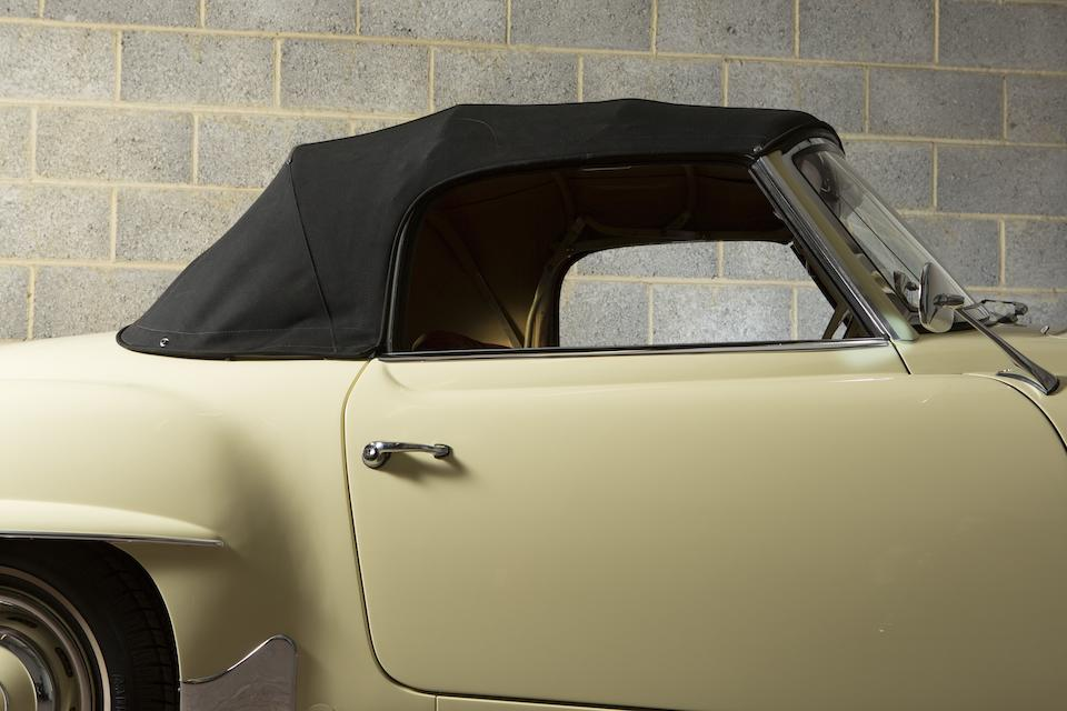 Formerly the property of Roger Trézel,1961  Mercedes-Benz  190SL Convertible  Chassis no. 121.040-10-020902