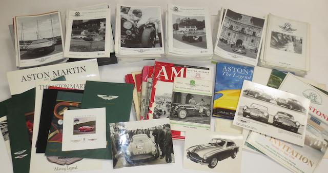A quantity of Aston Martin Owners Club magazines,   ((Qty))