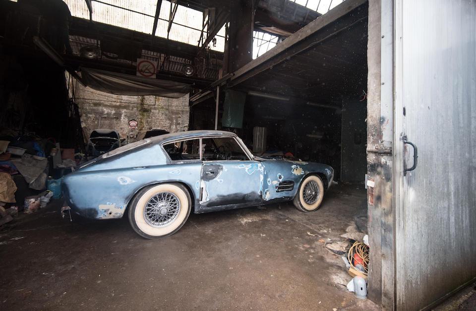 Sold in aid of the Animal Rescue Centre, Ghent,1955 Jaguar XK140 SE Michelotti Coupé