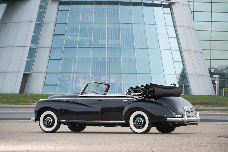 Rare UK right-hand drive model,1953 Mercedes-Benz  300 Cabriolet  Chassis no. R 186014-3501890