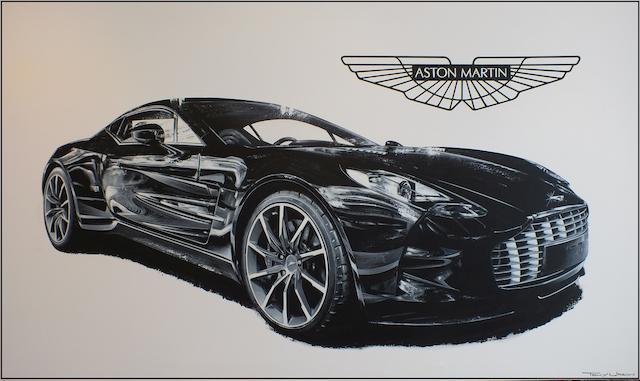 Tony Upson, 'Aston Martin One-77',