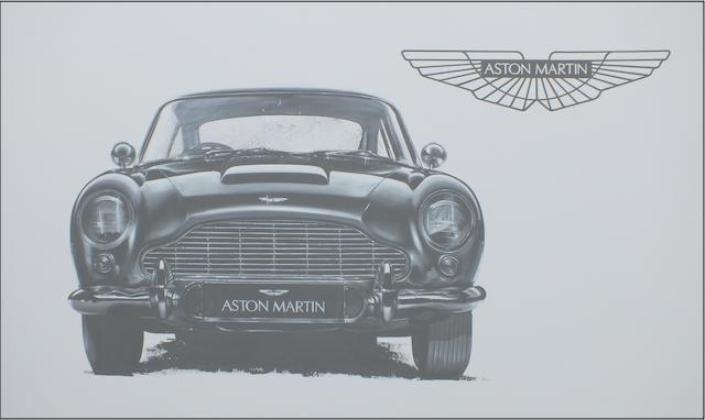 Tony Upson, 'James Bond Aston Martin DB5'.