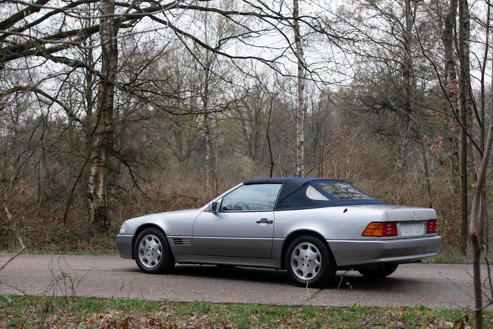 Circa 18,000 kilometres from new,1993 Mercedes-Benz 500 SL Roadster with Factory Hardtop  Chassis no. WDB1290671F087544
