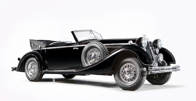 1939 Horch  853a Sportcabriolet  Chassis no. 854 375