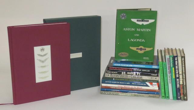 Alan Archer, Ted Cutting & Neil Murray: Aston Martin - The Compleat Car; and other books,  ((Qty))