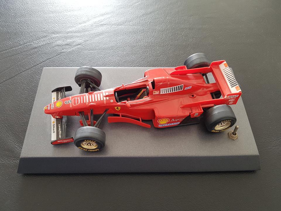 Ferrari F1 Model with Monaco Grand Prix sound track