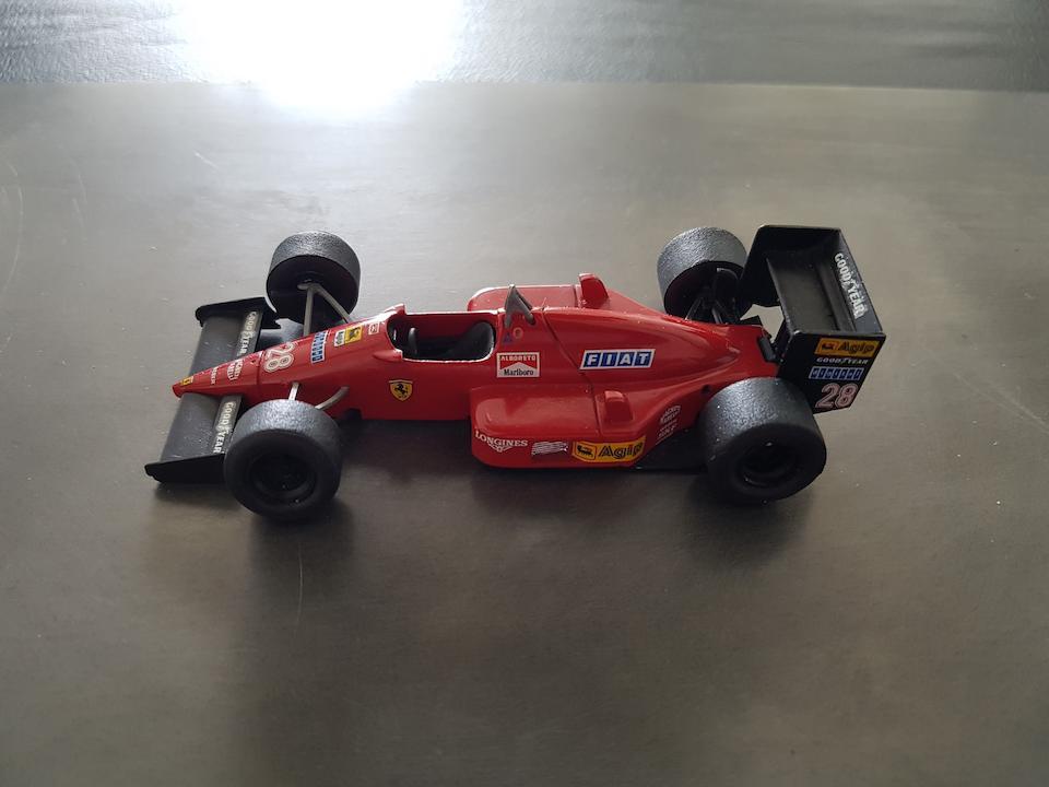 Ferrari F1 87 Turbo by Garrett
