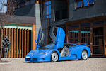 The 1993 Frankfurt International Motor Show,1993 Bugatti EB110 GT   Chassis no. ZA9AB01E0PCD39033