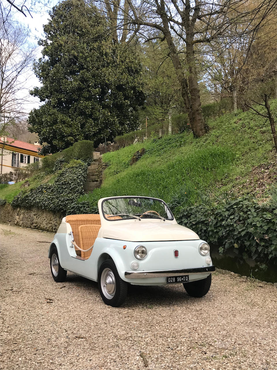 1970 FIAT 500 'Mare' Beach Car  Chassis no. 242 9372