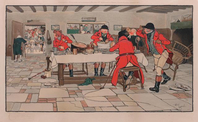 After Cecil Charles Windsor Aldin, RBA The Fallowfield Hunt  ((4))