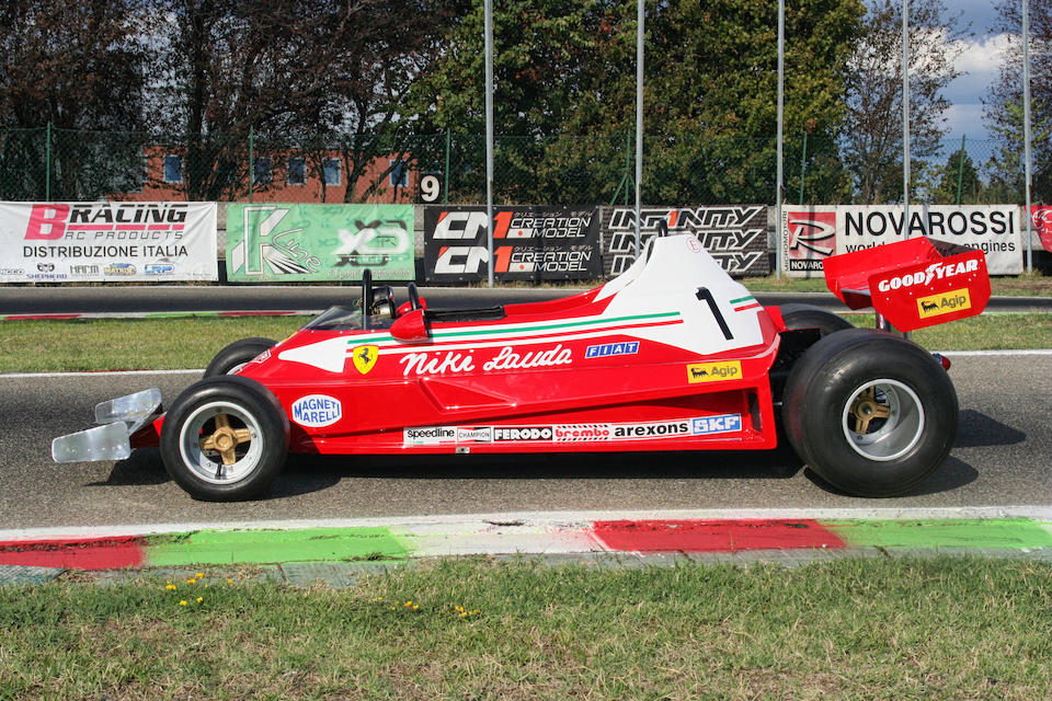 1977 Italy Car Ferrari 312T2 Formula 1 Child's Car