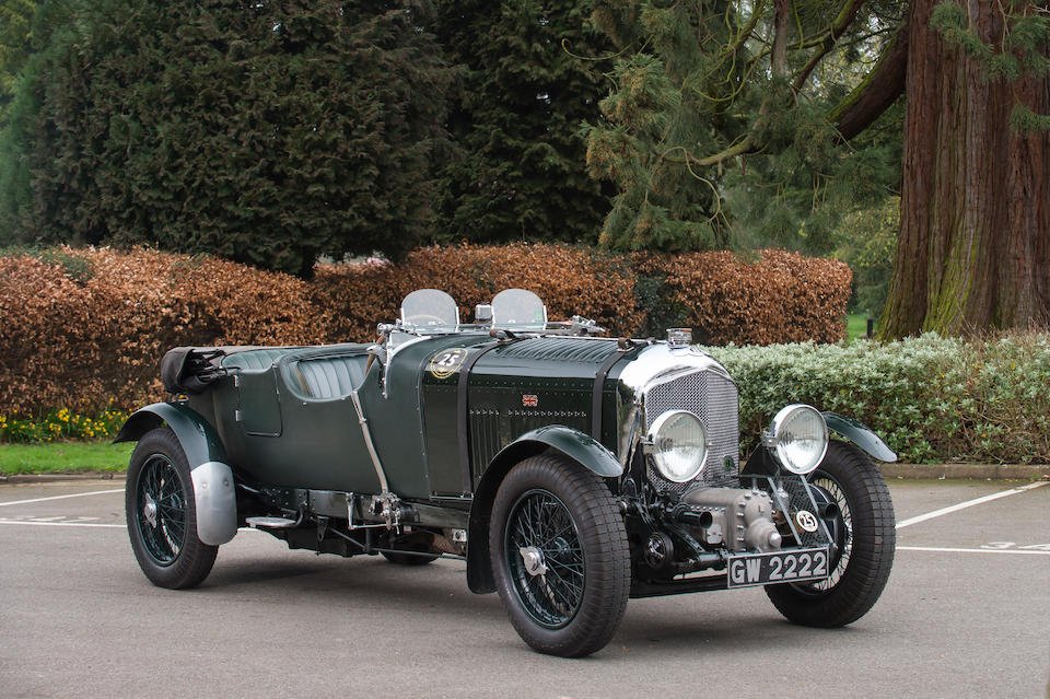 1 of the 50 originally built,1931 Bentley 4½-Litre Supercharged Tourer  Chassis no. SM 3925 (see text) Engine no. SM 3928