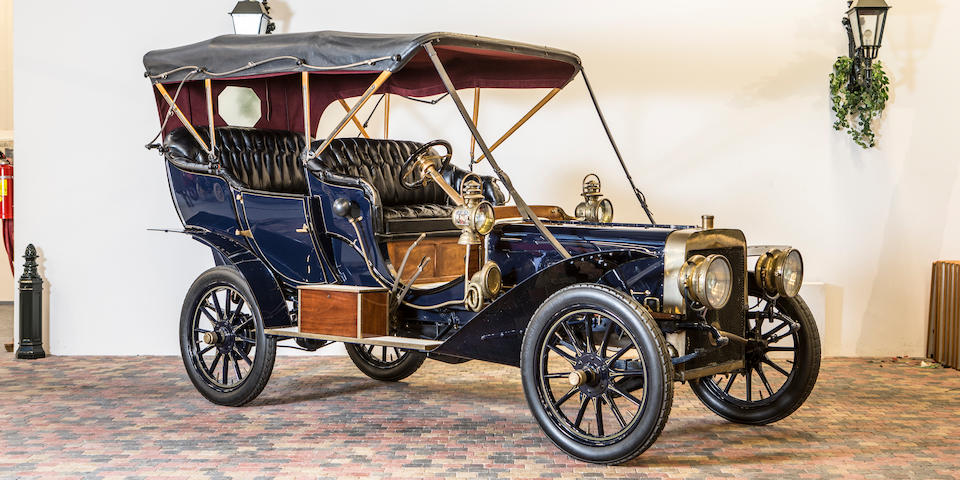 <b>1906 Ford Model K Open Tourer</b><br />Engine no. K160