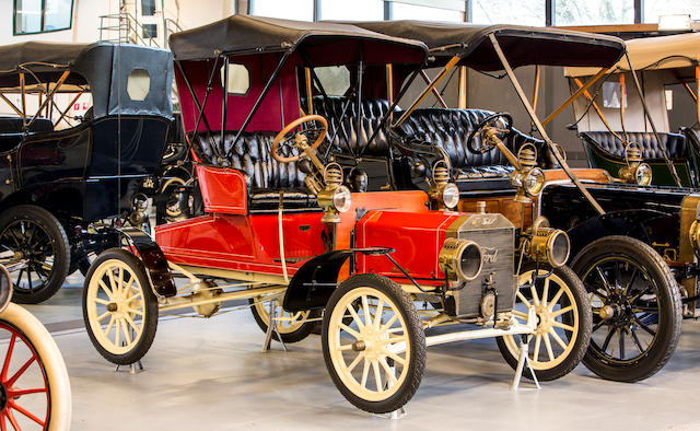<b>1907 Ford Model N Runabout</b><br />Chassis no. 4914<br />Engine no. 261