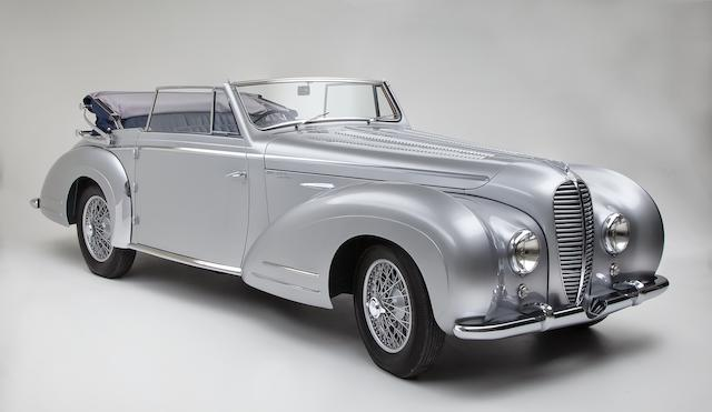 1950 Delahaye  135M Cabriolet  Chassis no. 801011