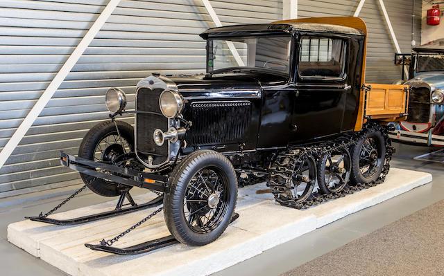 <b>1930 Ford Model A Snowmobile</b><br />Engine no. A4_525188