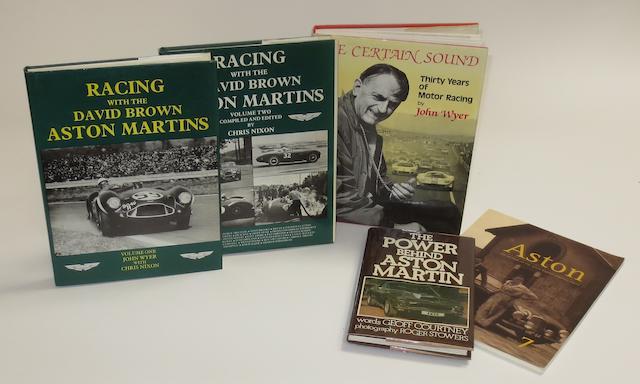 John Wyer & Chris Nixon: Racing with the David Brown Aston Martins, volumes 1 and 2;   ((5))