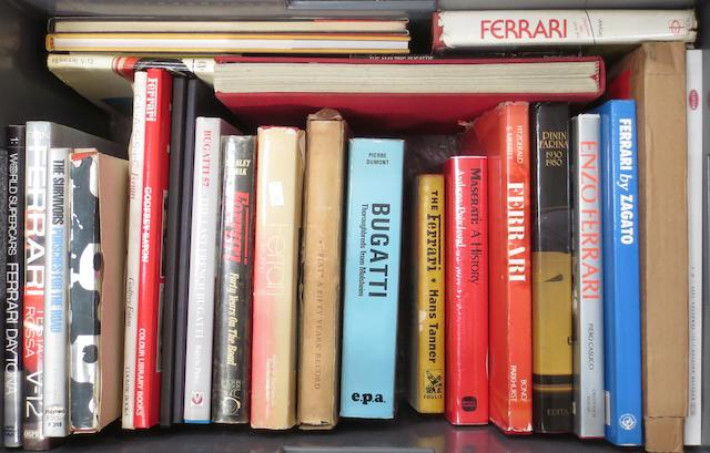 Books relating to Ferrari and other prestige marques,   ((Qty))