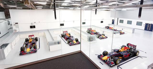 Aston Martin Red Bull Racing Factory Tour and Simulator Experience Plus a Meet & Greet with Team Principal Christian Horner,  Offered for sale on behalf of Wings for Life,